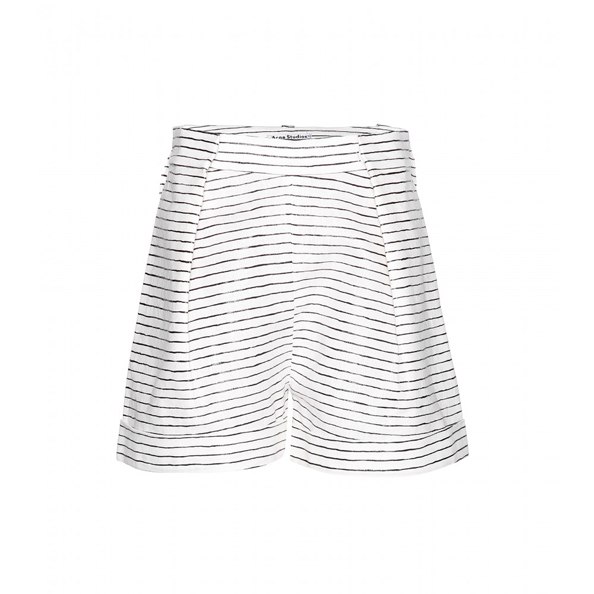 Linen shorts Dhs1,371 Acne Studios at mytheresa.com