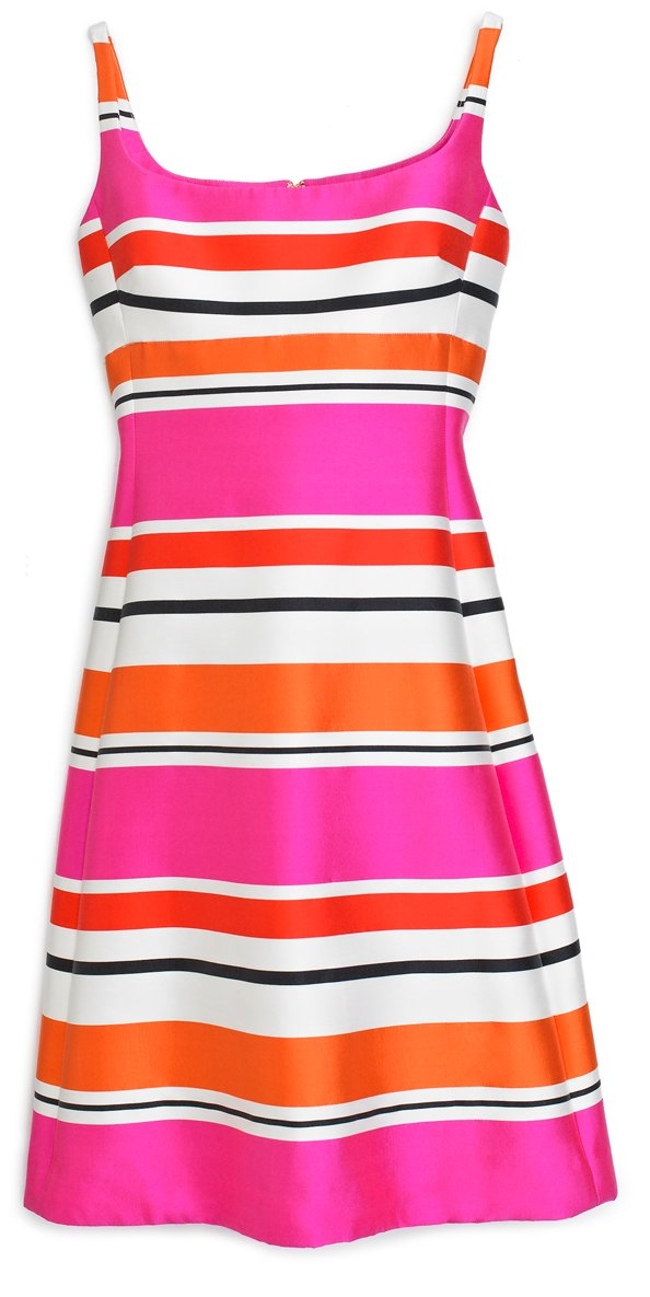 Striped dress Dhs2,300 Kate Spade