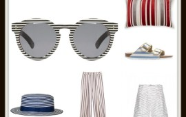 EW Style Notebook: Summer Stripes
