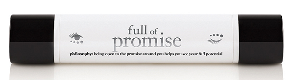 Full of Promise for Eyes Dhs150 Philosophy