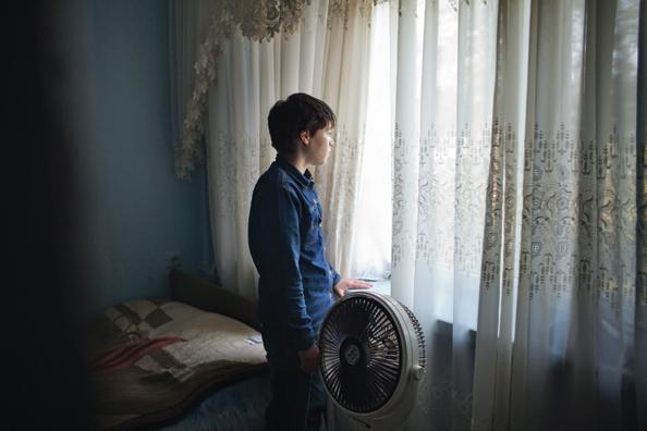 Zahra, 15 tahun, berpakaian seperti laki-laki sejak ia masih balita.