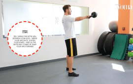 Workout Of The Week | Kettle Bell Workout At Smart Fitness