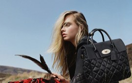 Cara Delevingne And Mulberry Plan To Win Christmas