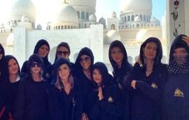 Kendall Jenner, Gigi Hadid and Selena Gomez Jet Into The UAE