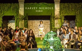 Harvey Nichols-Dubai Secret Garden Show | Exclusive Video