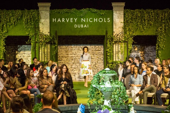 EW's Fashion Features Editor Olivia Phillips, HARVEY NICHOLS, EVENT, SPRING SUMMER 2015