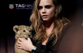 Video Exclusive | Cara Delevingne For TAG Heuer