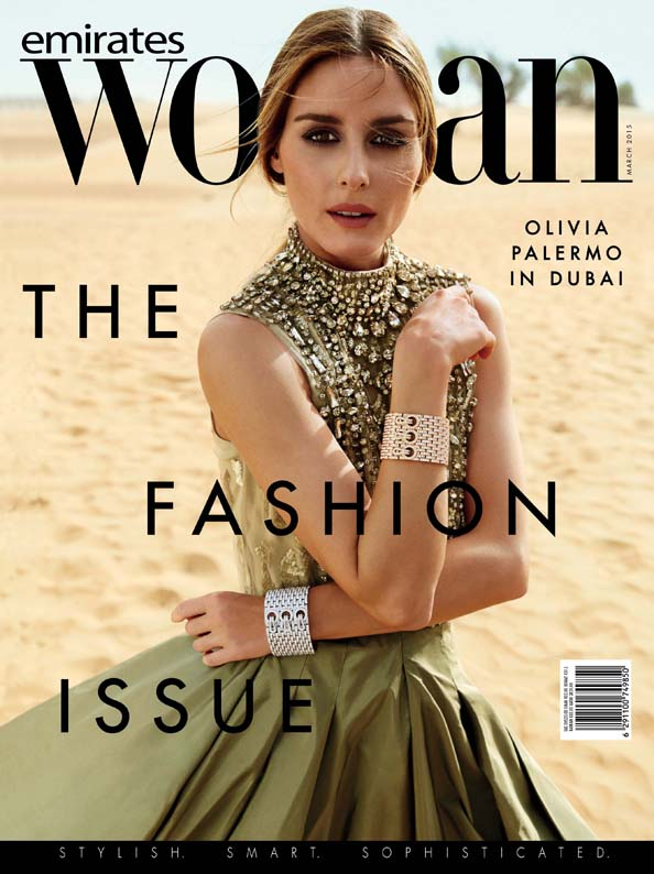 Emirates Woman March Olivia Palermo