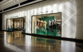 Burberry Open Flagship Store In Mall Of The Emirates