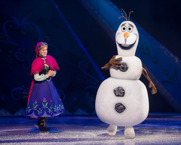 Disney on Ice, Princesses, Heroes, Frozen