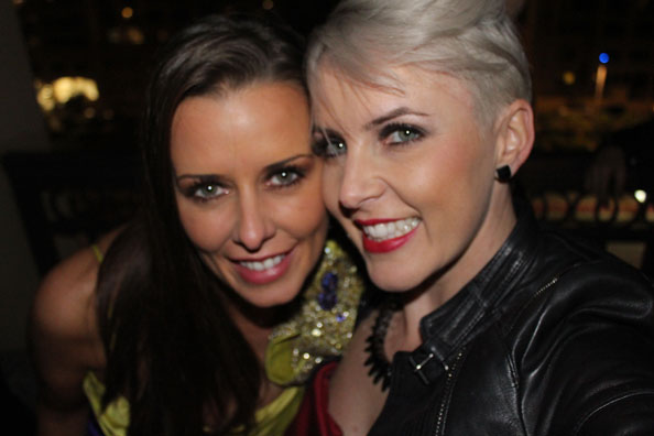 Sarah Feyling, Kelly Lundberg, , International Friendship Day