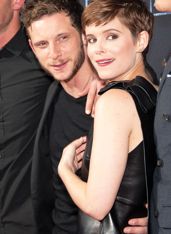 KATE MARA & JAMIE BELL, celebrity couple