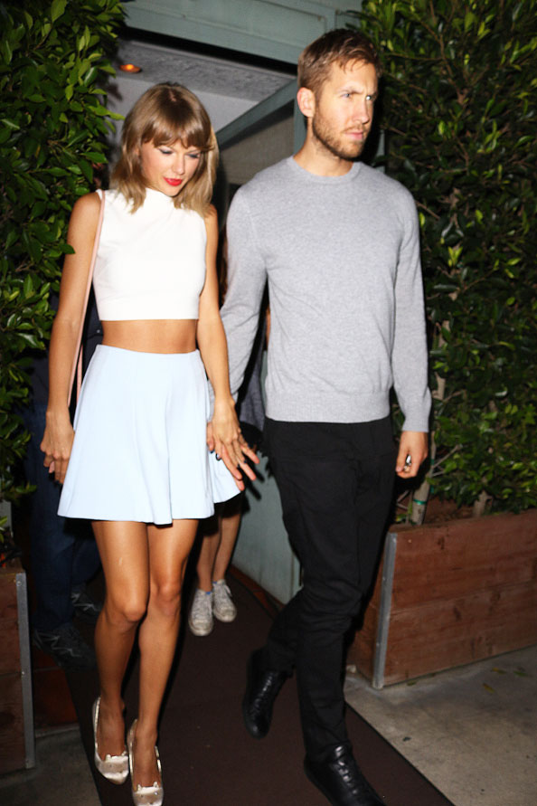 TAYLOR SWIFT & CALVIN HARRIS, celebrity couple