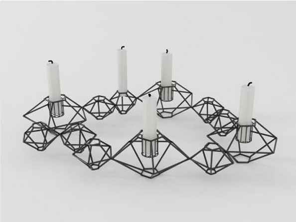 Candle Holder, Dhs385, thebowerycompany.com