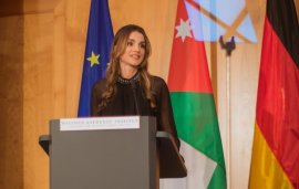 Queen Rania honoured with Walther Rathenau Prize in Berlin
