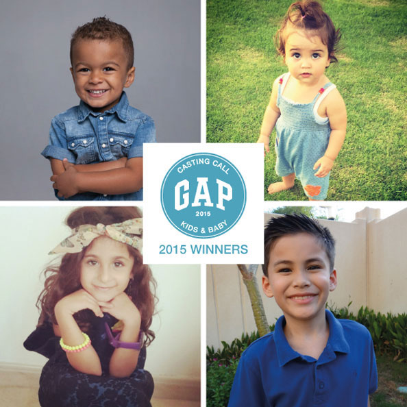 GapKids Casting Call Contest 2015: Meet The Winners