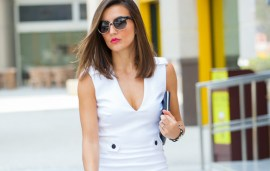 Ew Wearing: Victoria Victoria Beckham White Dress