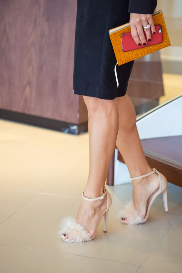 high street chic EW Wearing: Shoe Mart Heels