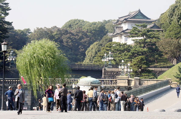 Imperial Palace tokyo city guide