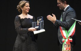 Princess Haya bint Al Hussein Honoured With 2015 Giglio d'Oro Award