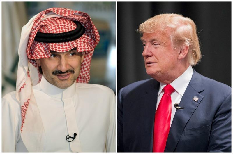 Prince Alwaleed bin Talal Donal Trump Twitter