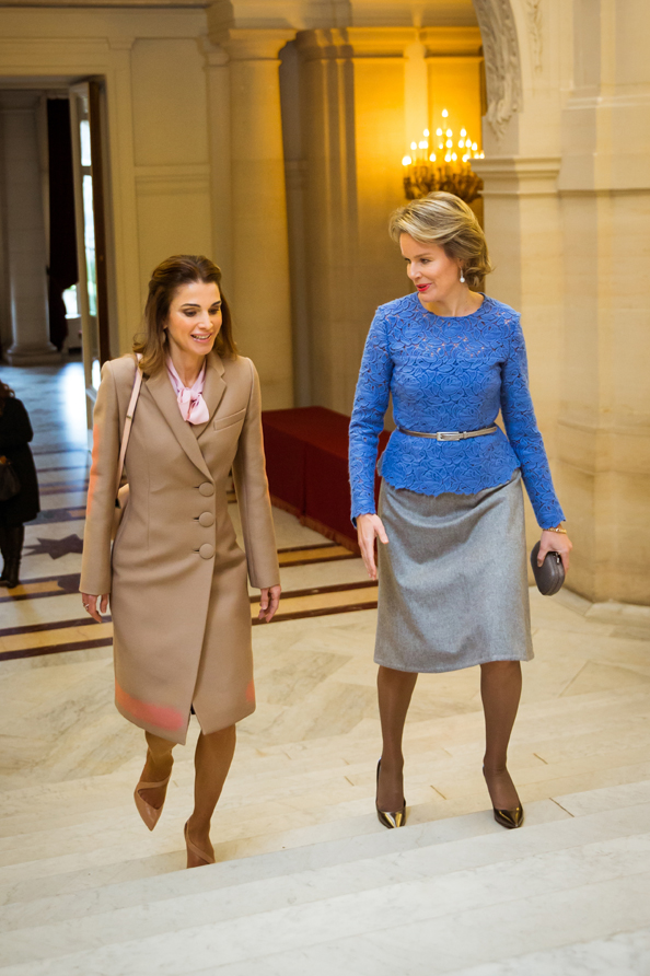 queen rania Queen Mathilde of Belgium