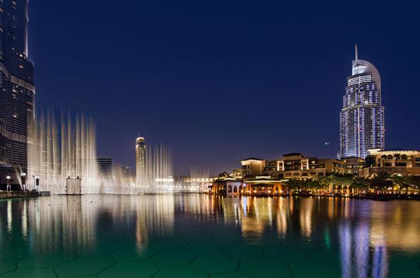 Dubai Fire, Address Downtown Dubai