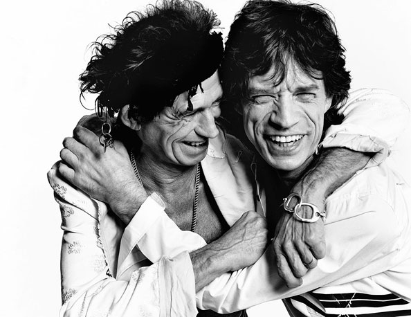 mario testino heat dubai, Keith-Richards-&-Mick-Jagger