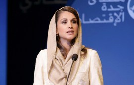 Queen Rania Shares Her Sentiments On The Syrian War's 5th Anniversary
