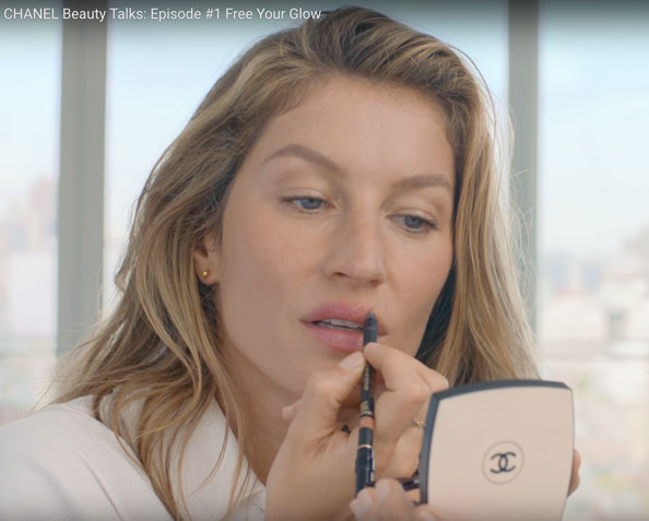 Chanel Beauty Talk, Gisele Bundchen, Lucia Pica