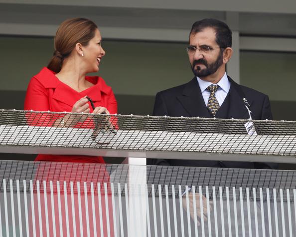 Princess Haya and Sheikh Mohammed