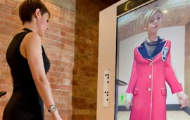 'Try On' Clothes With The Galleria's Virtual Style Pod