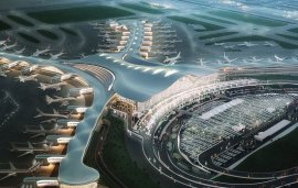 Abu Dhabi Airport's Midfield Terminal Building Nears Completion