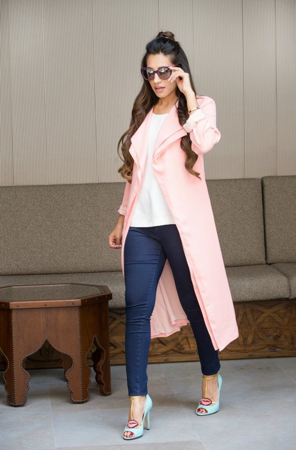 Zarah Amira, Blogger at Zamira-style.com Wears: River Island Ramadan Exclusive