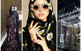 Dolce & Gabbana New Flagship Store Boasts Abaya Collection