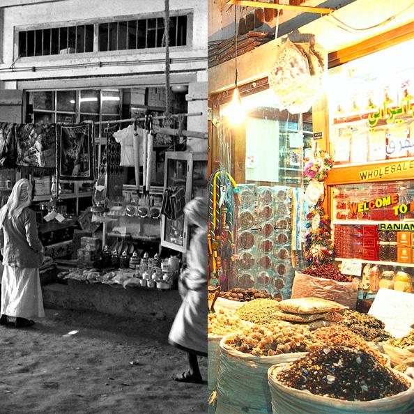 Souk Dubai Dubai 1962 old dubai