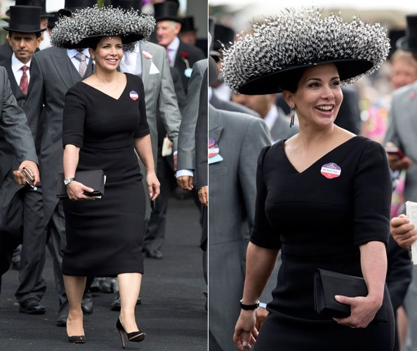 Princess Haya at Royal Ascot