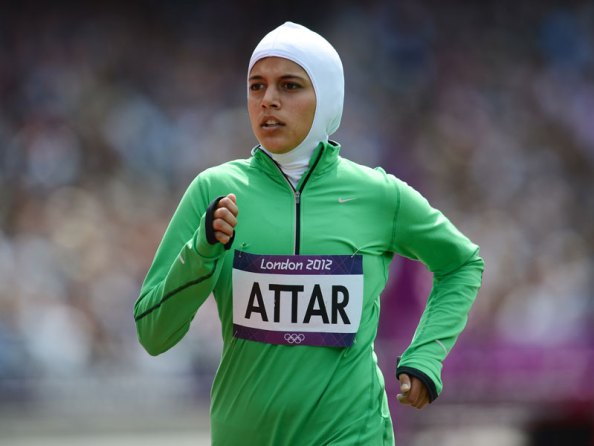 Sara Al Attar at London 2012