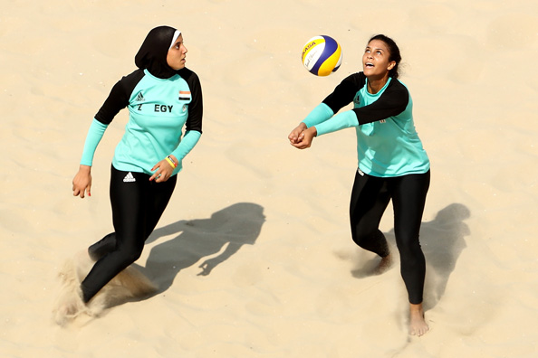 Egyptian Olympic Team, Doaa El-Ghobashy, Nada Meawad