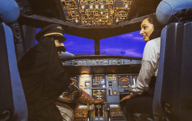 The UAE Gets Its First Female A380 Pilot