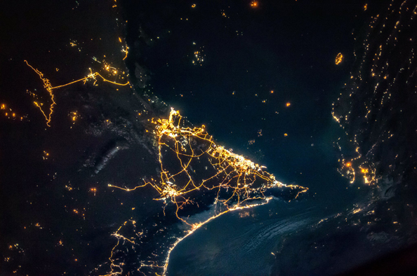Mesmerising Photos Of Dubai & Abu Dhabi From Outer Space