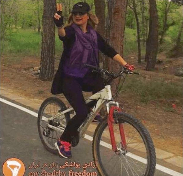 Women In Iran Defy Fatwa And Get On Their Bikes