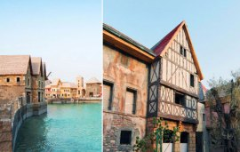 No, This Isn't A Rustic French Village… It's Right Here In Dubai