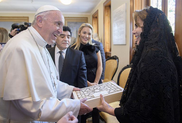 princess haya pope francis