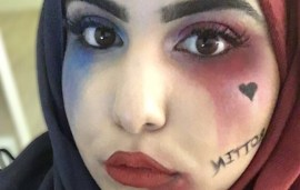 Beauty Blogger Perfectly Works Her Hijab Into Her Halloween Costume