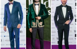 Best Dressed Men At The Emirates Woman, Woman of the Year 2016
