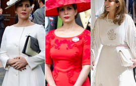 A Year In Style: Princess Haya's 10 Best Looks From 2016