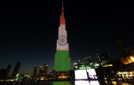 The Burj Khalifa Is Getting A Little Makeover Tonight