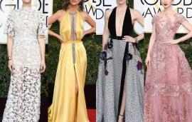 So Many Stars Wore Lebanese Designers At This Year's Golden Globes