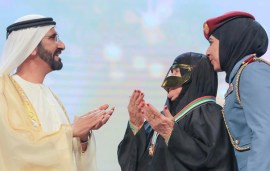 This Is The Heartwarming Moment Sheikh Mohammed Met One Of His Biggest Fans